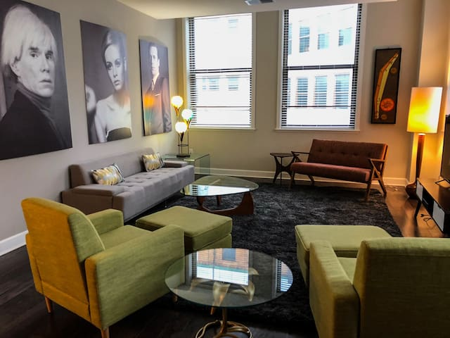 Mid-Century Modern Unit at Sibley Square
