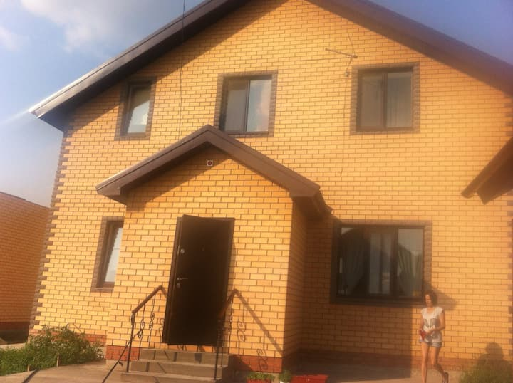 New house near airport 15 min from Kazan