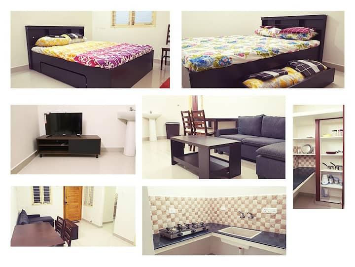 Chippy Apartment Furnished 2bhk/1bhk @Madipakkam B