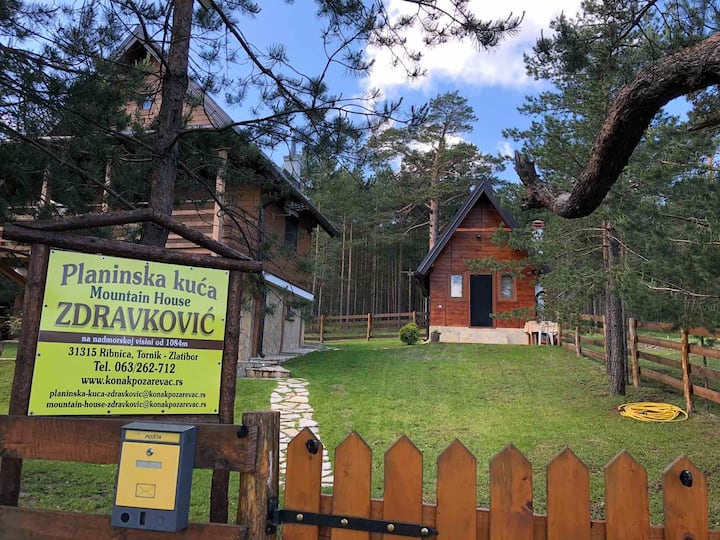 Planinska Kuća Zdravković Apartman 3 - Tornik