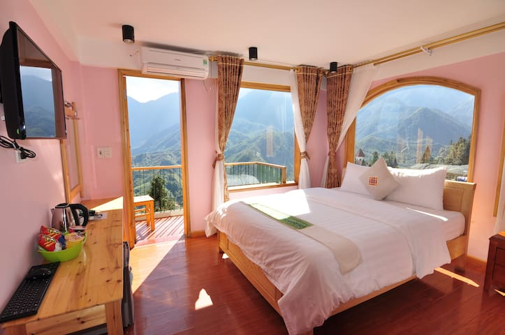 6-double room mountain view