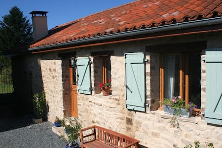 Converted Barn, fine accommodation for all seasons - Bussière-Galant - Haus