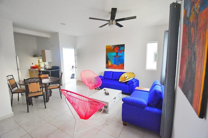 Puerto Morelos,🐕 Wiffi 100%, Pool, Security 24\7