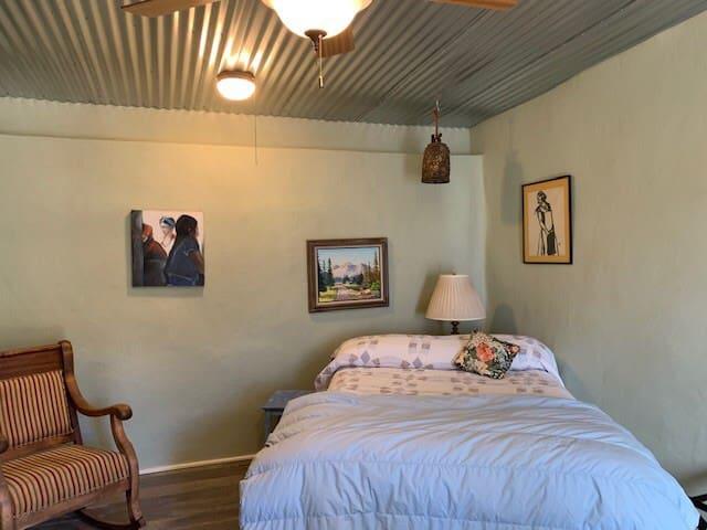 strawbale room
