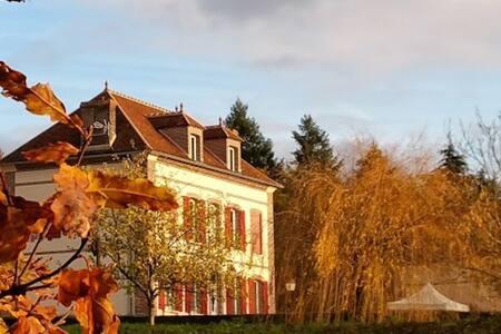 Maison de maître 4* écologique en pleine nature