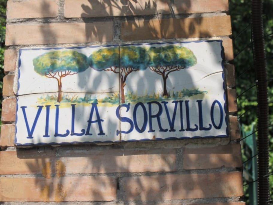 You have arrived at Villa Sorvillo!