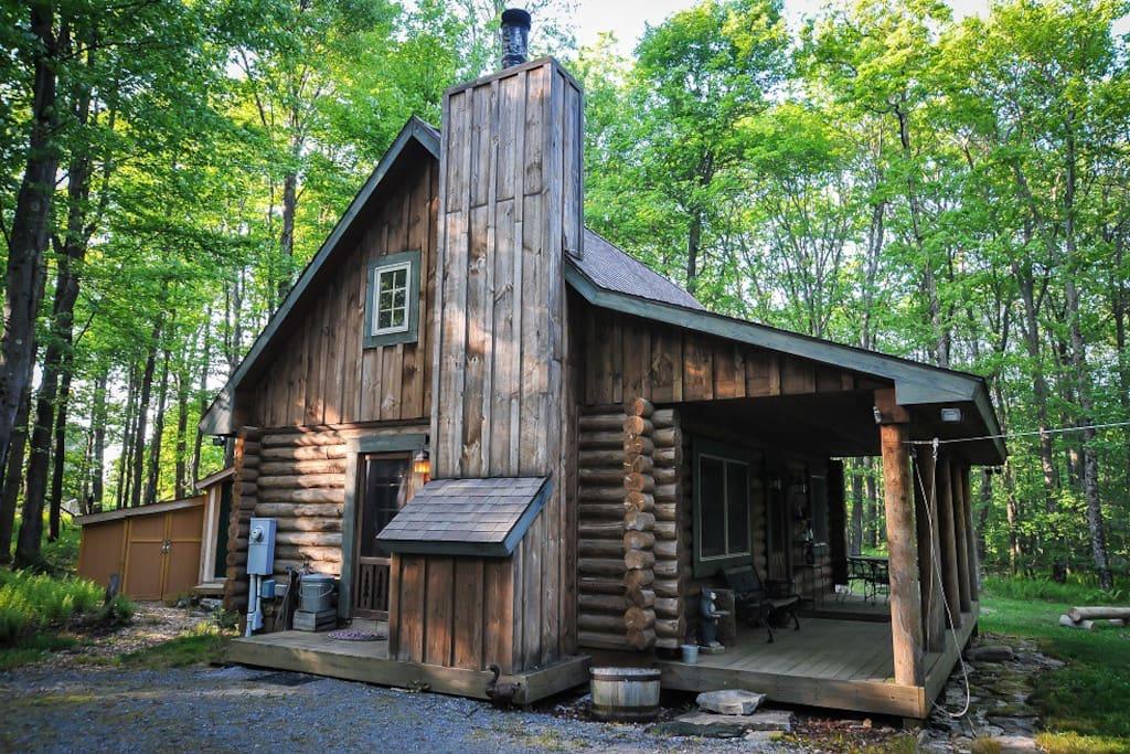 fernwood cabin deep creek lake cabins for rent in