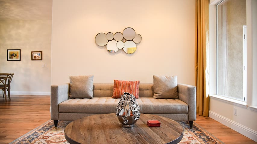 Living room- really lends itself to conversation or board game playing :)