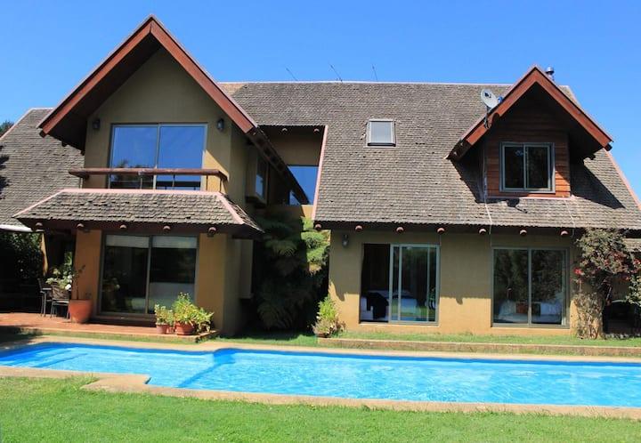 Casa en Pingueral cerca de la playa.