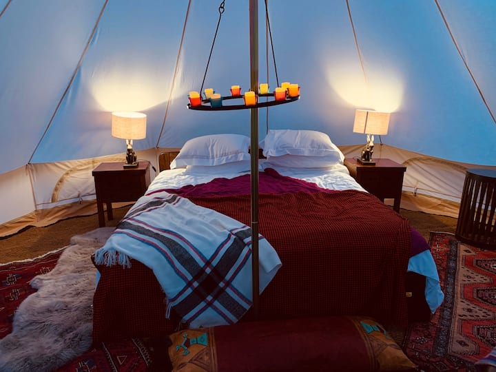 Luxurious Tent in private estate near St Albans