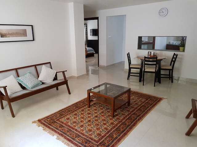 Modern 2 BHK unit in the heart of Hyderabad city