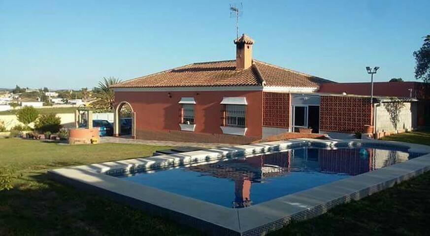 Chalet con piscina privada - Pago del Humo - Rumah