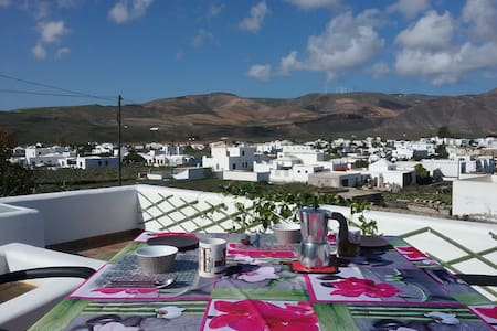 Lanzarote, quiet rural location great views - Guatiza - Rumah