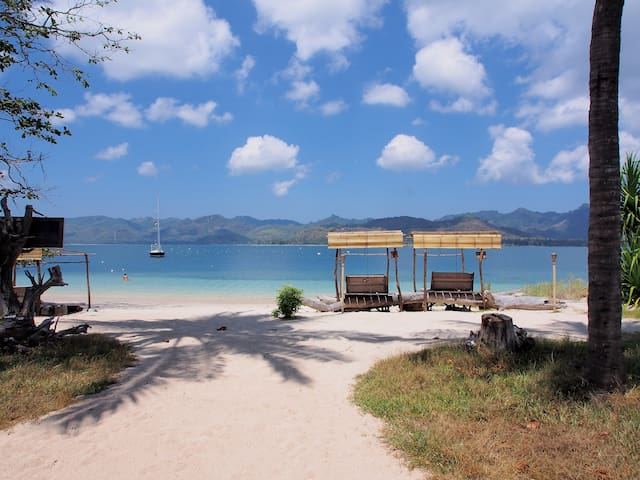 Eco Lodge Gili Lombok +extra bed - Central Sekotong - บังกะโล