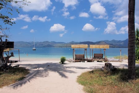 Eco Lodge Gili Lombok +extra bed - Central Sekotong - Bungalow