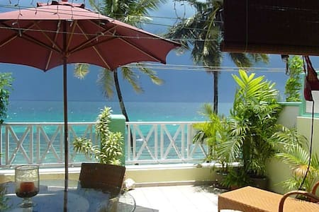 West Coast Beachfront Penthouse - Speightstown