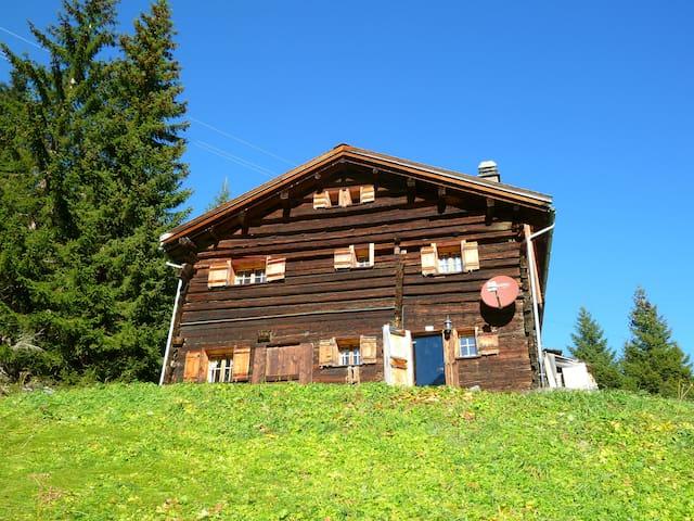 Echtes Maiensäss/Chalet auf 1700m - Riom-Parsonz - Chatka w górach
