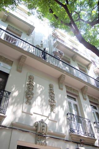Soleado y céntrico piso Modernista - Valência - Apartamento