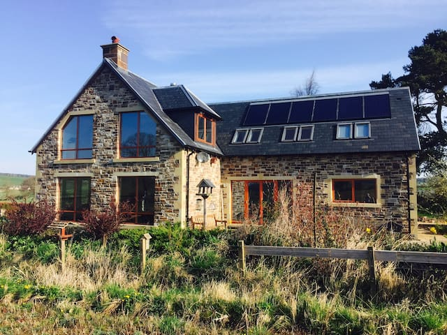 Eco House (large) in the Scottish Borders. - Jedburgh - Huis
