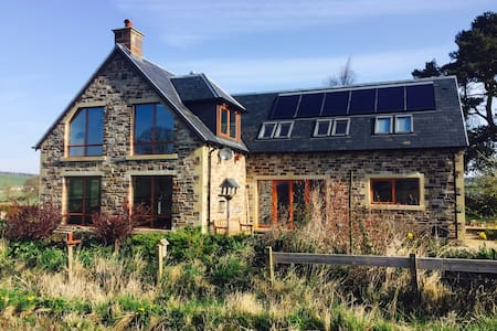 Eco House (large) in the Scottish Borders. - Jedburgh