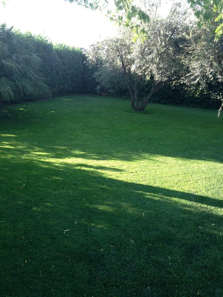 villino nelle campagne di Frascati