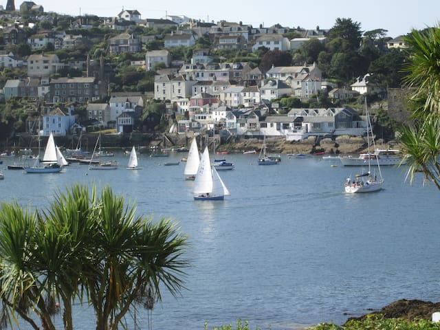 Light and spacious apartment - Fowey - Apartamento