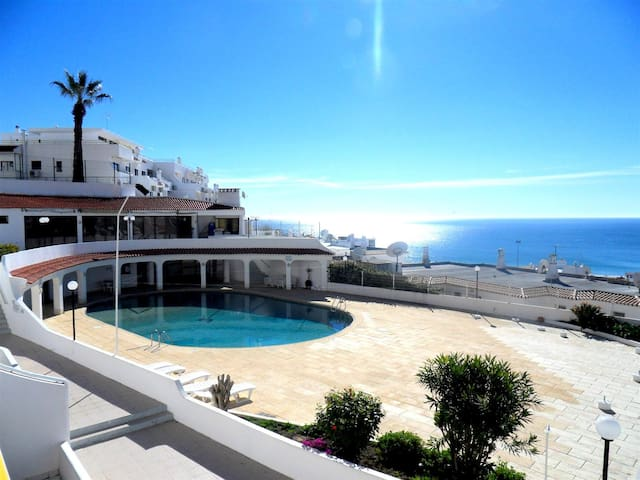 APARTMENT WITH OCEAN VIEW (WEEKLY RENTAL) - Albufeira - Apartment