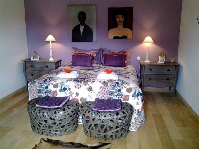 Chambre d'hôte lila - Plouëc-du-Trieux - Гестхаус