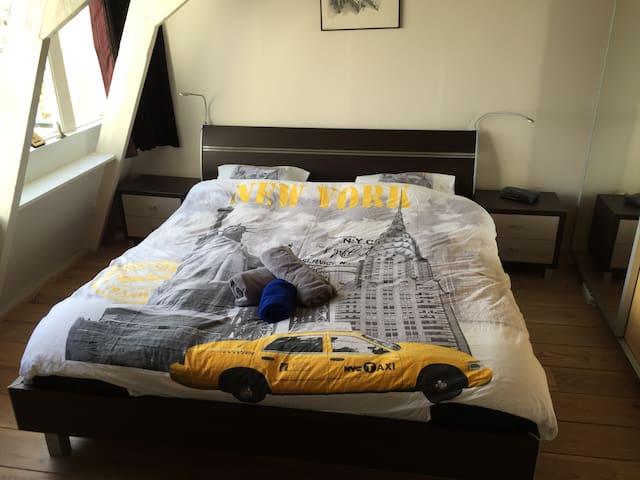Charming bedroom centre Amsterdam