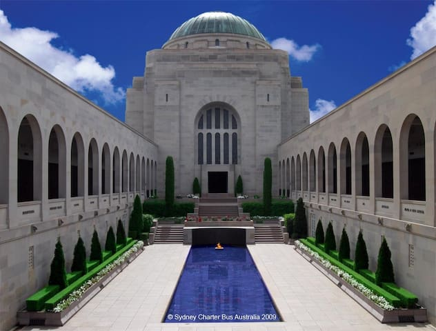 An unforgettable experience, visit the National War Memorial