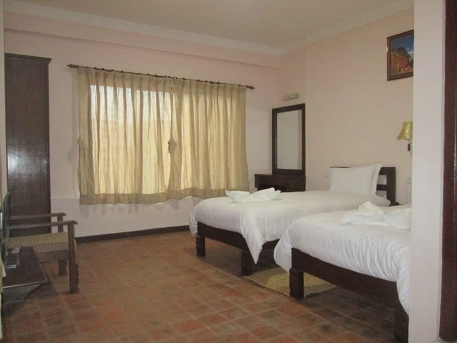 Clean and well maintained rooms