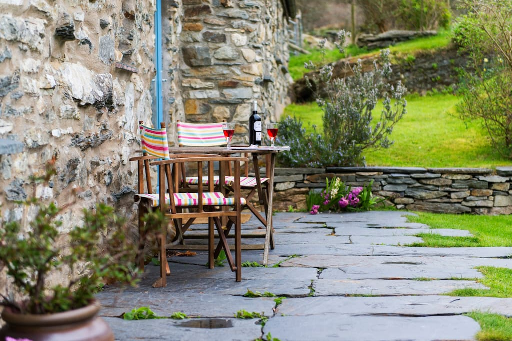 The Delightful Patio - perfect for Breakfast or pre-dinner drinks