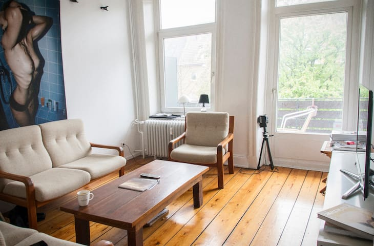 Zimmer einer WG im Herzen Hamburgs - Hamburg - Bed & Breakfast