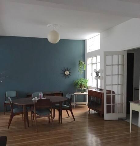 Incredible apartment in CONDESA!!! - Ciudad de México - Apartment