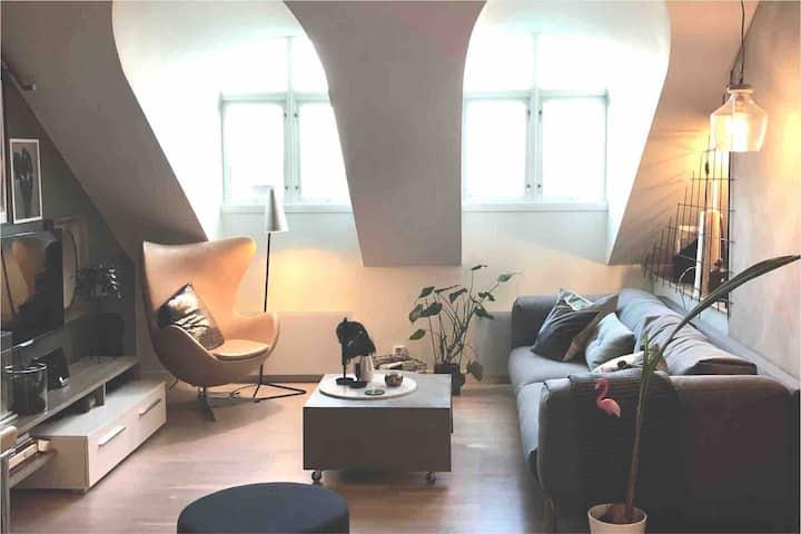 Unique loft apartment - great location