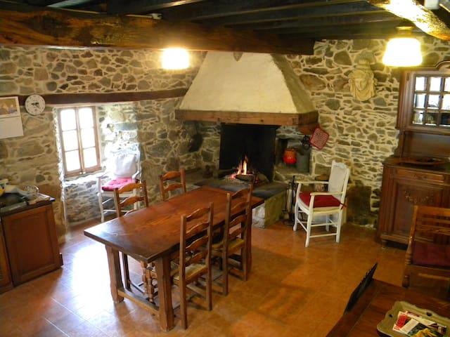 Maison de charme dans les Pyrénées - Esbareich - Huis