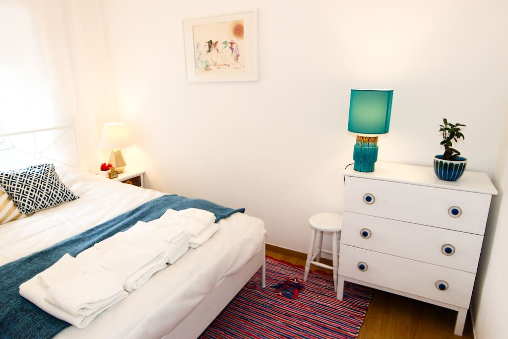 The romantic downstairs double room
