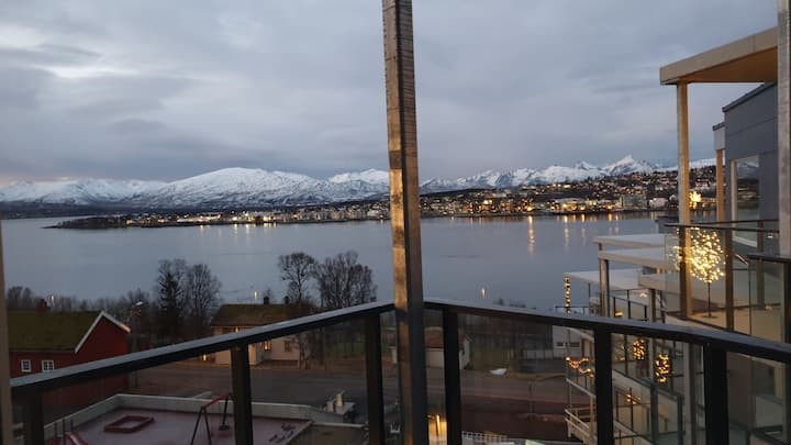 New flat in Tromsø with a fantastic view