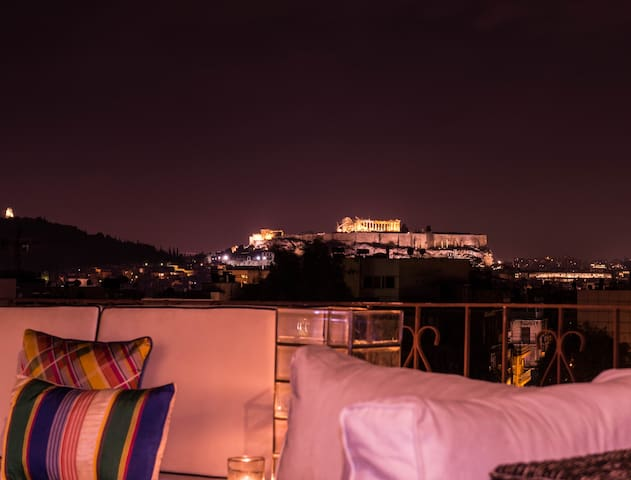Top-floor 99 sq.with Acropolis View - Athina - Apartamento