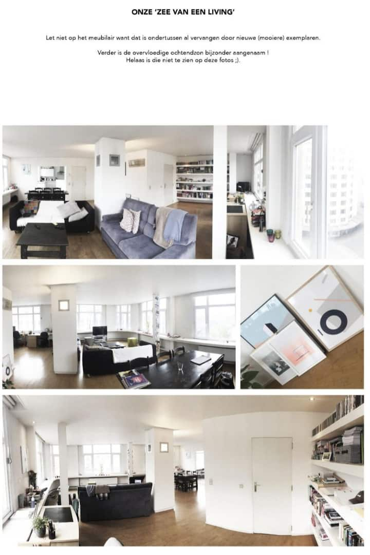 Room in big loft in the citycenter, meirbuilding