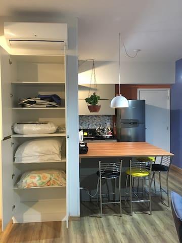 Lindo e aconchegante apartamento em Santos