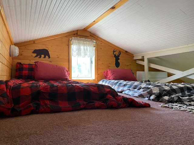 3rd bedroom/loft. 2 twin beds. The kids will love this!