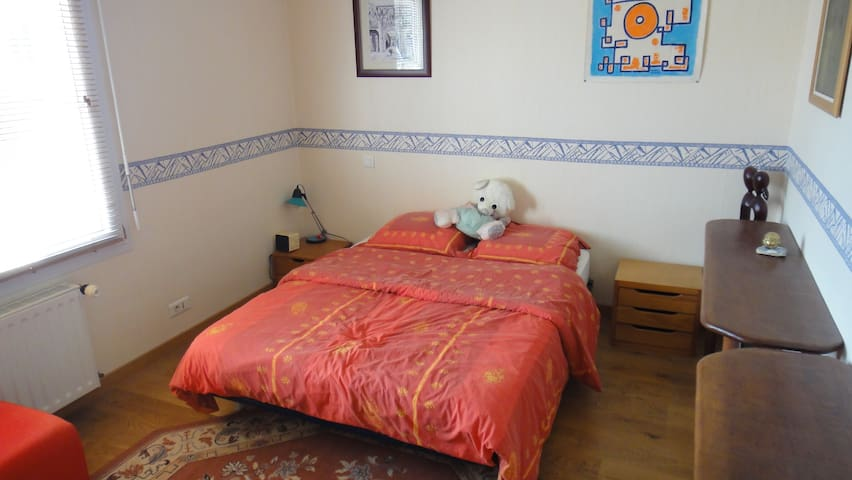 Single room for 2 persons with private bathroom