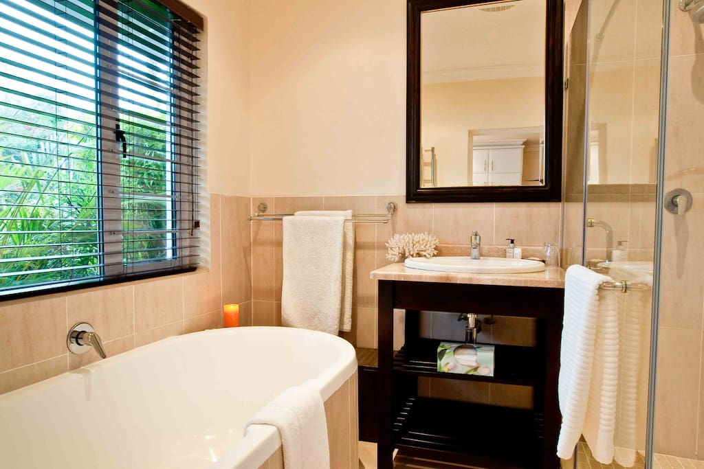 Room 3 - Full en suite Bathroom with separate bath and shower.