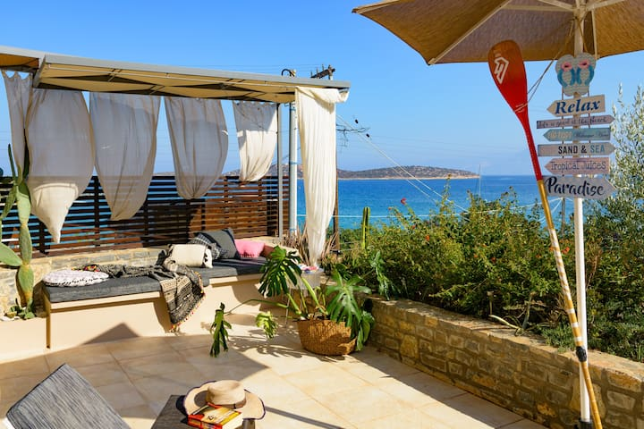 Ammoudi Beach Apartment a step to the beach!