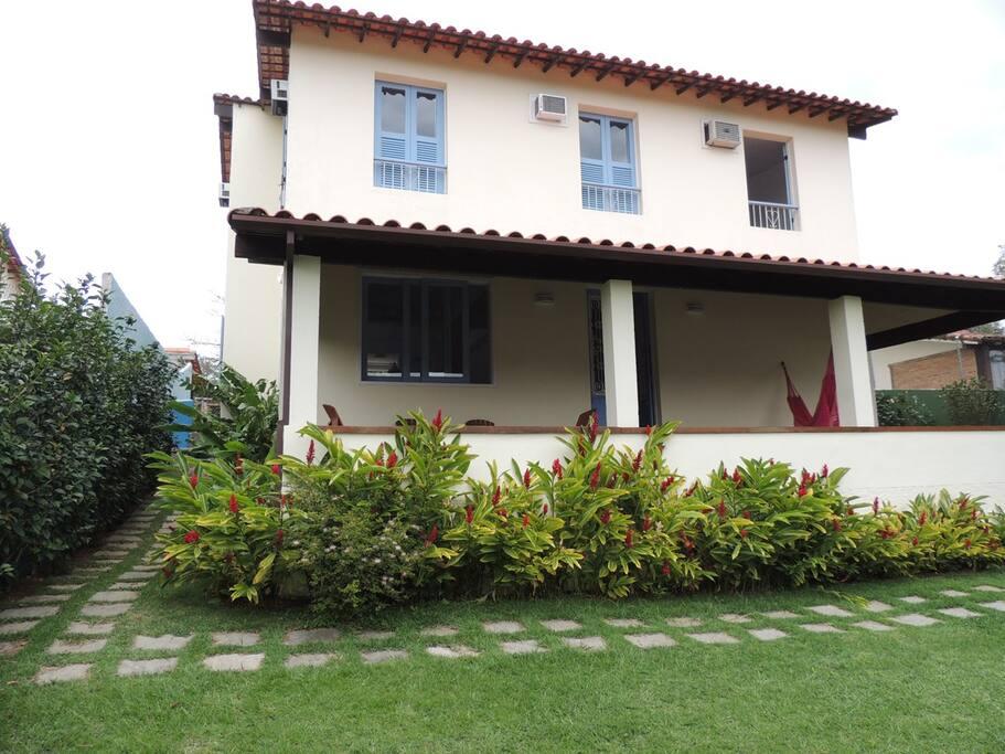 fachada da casa
