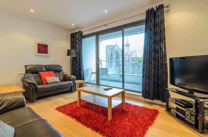 City 2 bedroom, parking, GYM, WIFI - Belfast - Leilighet
