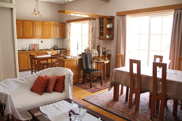 central , sunny , roomy family home - Kalamata - Maison