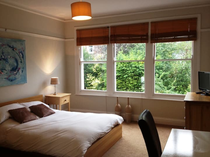 Large Light & airy ensuite room (private bathroom)