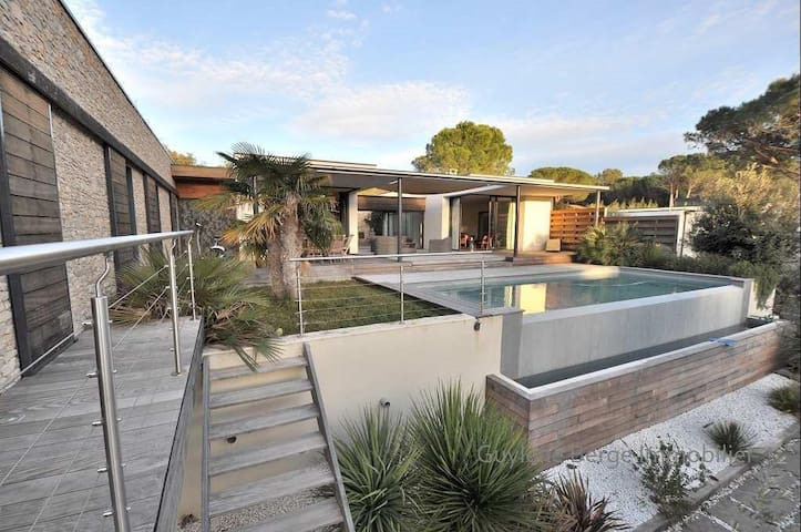 Magnifique villa contemporaine - Nages-et-Solorgues - Villa